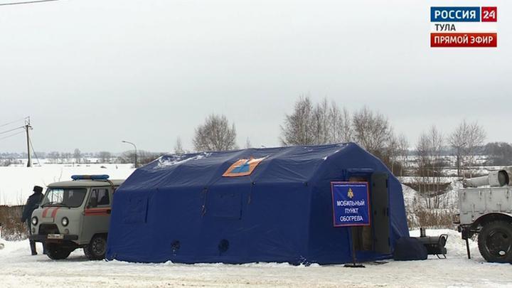 Тульские спасатели проверили готовность пунктов обогрева к зиме