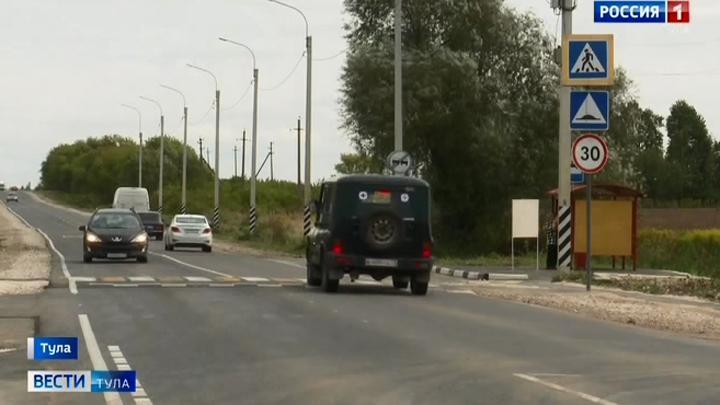 Ремонт дороги в Алёшне завершен