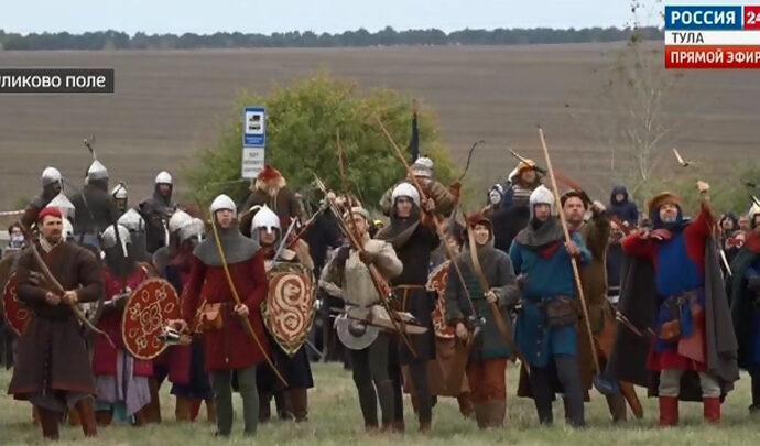 На Куликовом поле отпраздновали 641-ю годовщину великой битвы