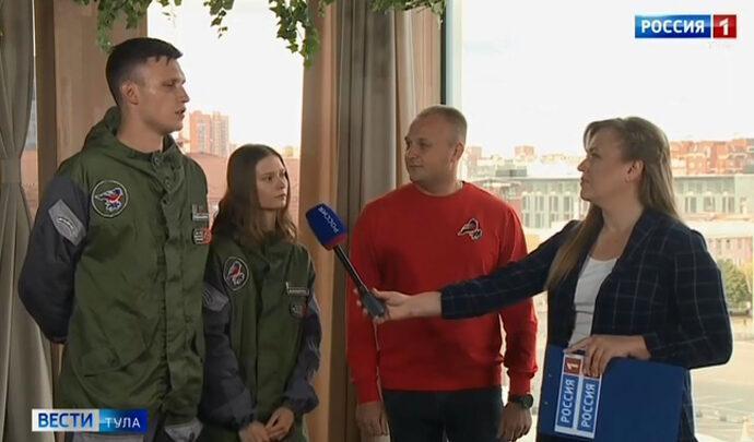 Интервью. Артур Новиков,  Мария Абрамова и Никита Дудкин