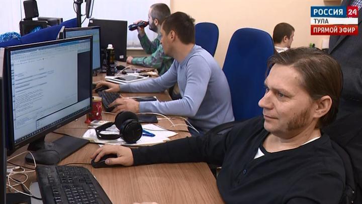 В Тульской области повышенный спрос на программистов