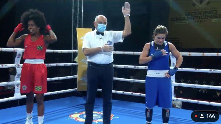 Дарья Абрамова вышла в финал чемпионата мира по боксу среди военнослужащих