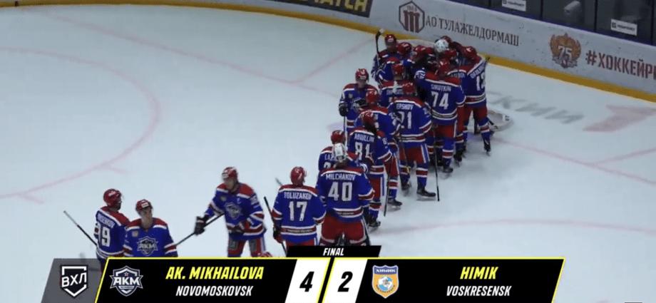 Хоккеисты АКМ одержали победу в первом в истории домашнем матче ВХЛ