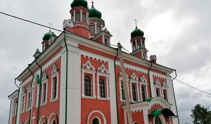 Крестовоздвиженский храм Спасо-Преображенского монастыря освящен в Белеве