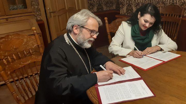 «Благо дарить»:Тульская епархия заключила соглашение с центром социальной помощи семье и детям