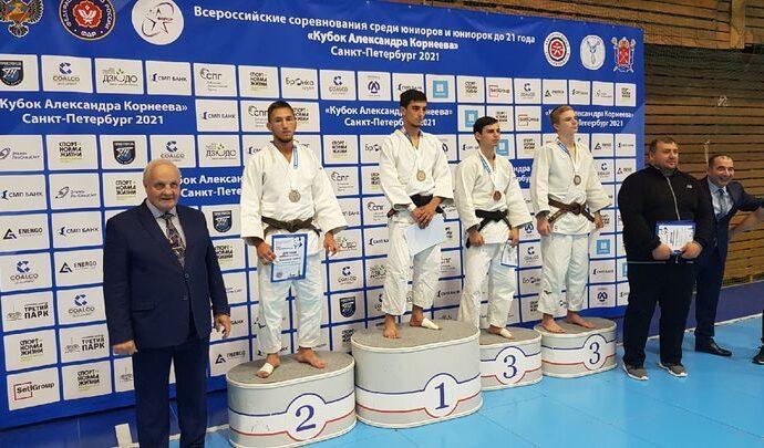 Тульские дзюдоисты завоевали четыре медали в Санкт-Петербурге