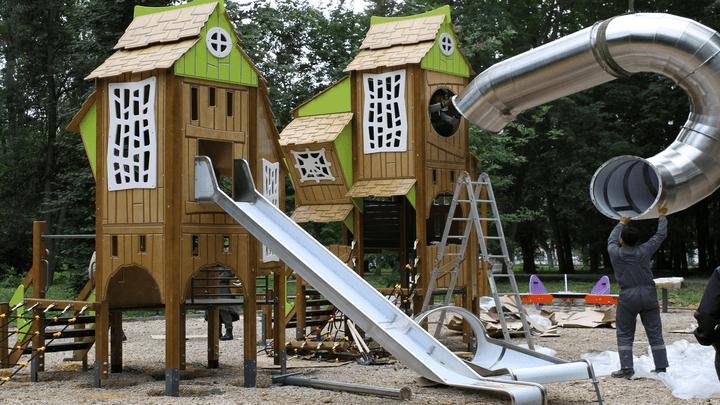 В Узловой в парке Железнодорожников появится эко-детская площадка