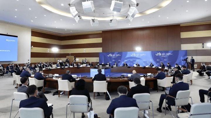 Тульская делегация  принимает участие в работе Восточного экономического форума