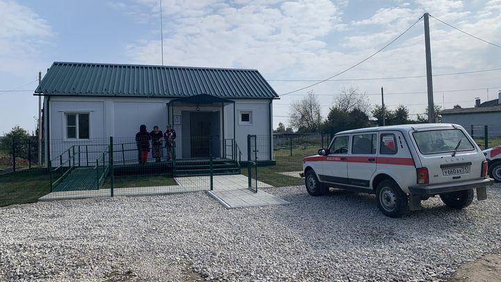 В селе Говоренки Одоевского района открылся новый ФАП
