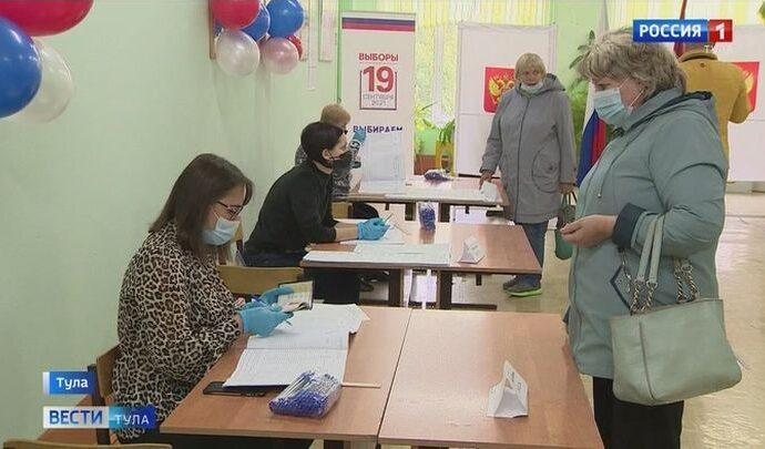 Как прошел первый день голосования в Тульской области