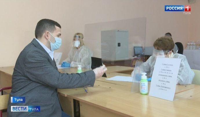 В Туле специальная комиссия проверяет готовность избирательных участков
