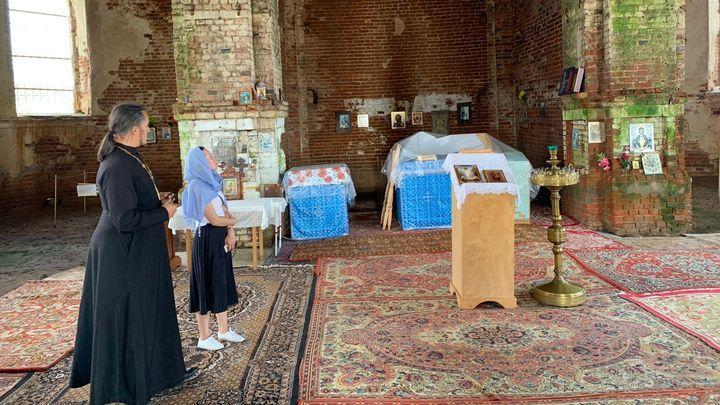 В селе Лаврово почти век спустя после закрытия храма отслужили молебен
