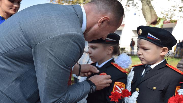 Юных жителей Узловой торжественно посвятили в кадеты