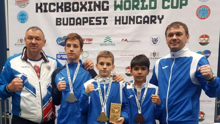 Туляк Кирилл Сапрыгин - победитель Кубка мира по кикбоксингу