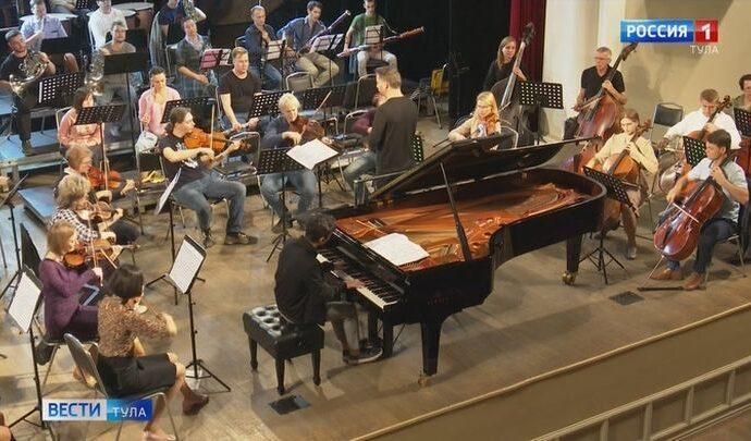 В Туле прошел уникальный концерт симфонического оркестра