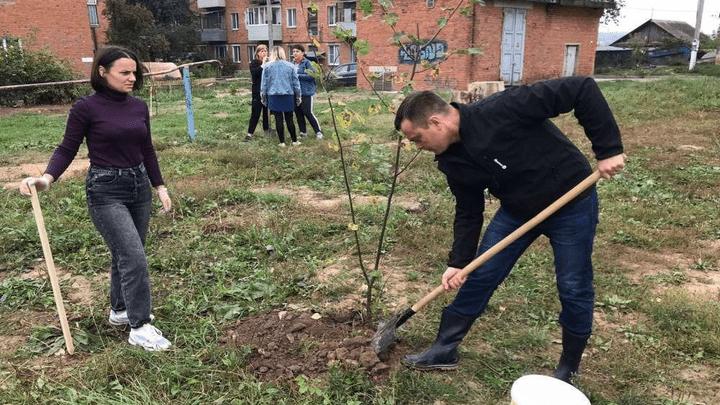 Жители Алексина присоединились к всероссийскому эколого-патриотическому проекту «Лес Победы»