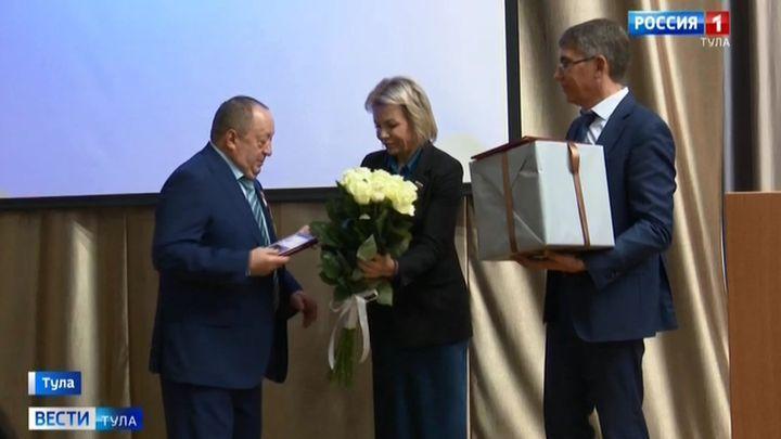 Экс-мэр Тулы получил медаль «За активную гражданскую позицию»