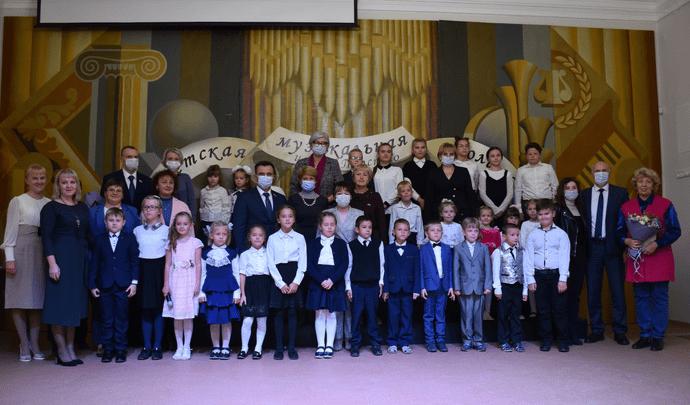 В Щекине после капремонта открылась музыкальная школа