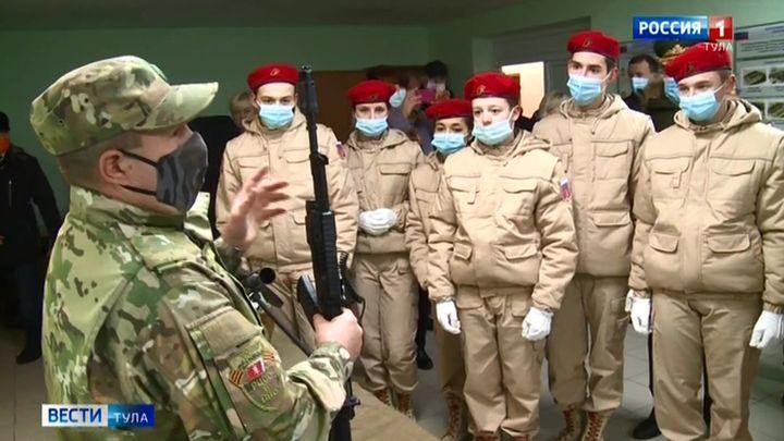 Ненецких подростков направили в Тулу на военную подготовку