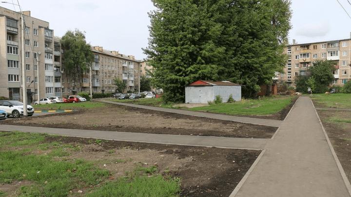 В Новомосковске продолжается реализация программы «Формирование современной городской среды»