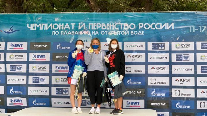 Тульские пловцы завоевали две медали на старте первенства России