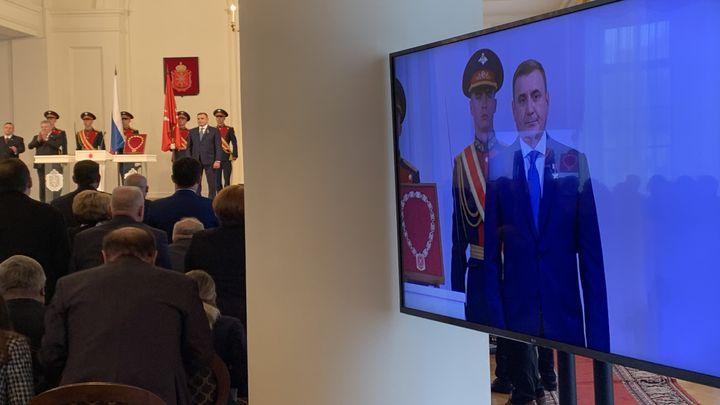 Алексей Дюмин официально вступил в должность губернатора Тульской области