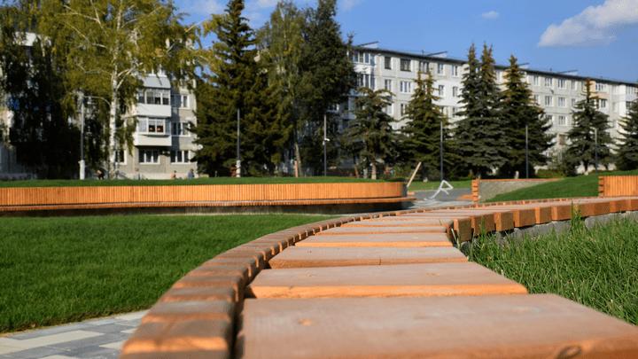 На финишной прямой: В Узловой завершается благоустройство территории зоны отдыха Свиридовского пруда