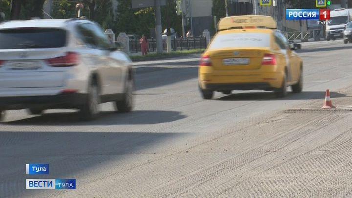 Ремонт дорог в Туле завершится не позднее ноября