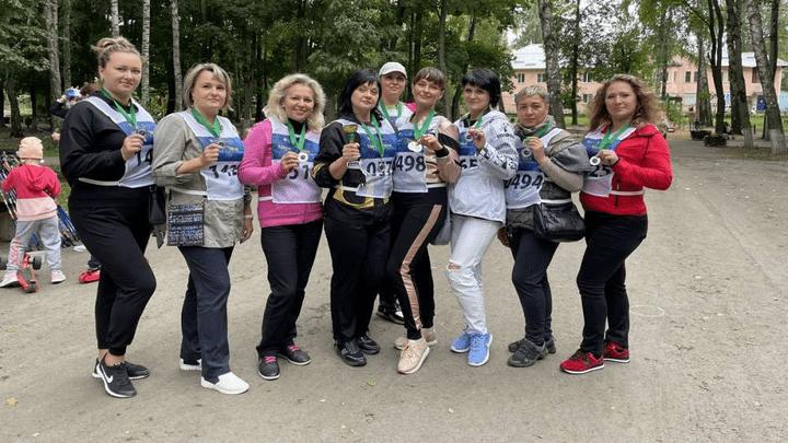 Скандинавский шаг: В Узловой прошли соревнования по Северной ходьбе