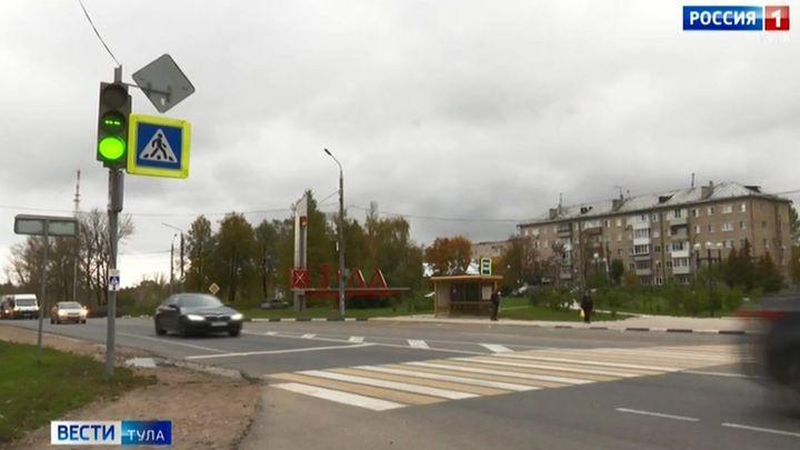 Светофор на въезде в Тулу поменял режим работы
