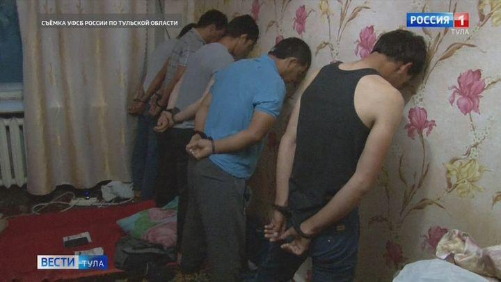 Тульские сотрудники ФСБ и Росгвардии обезвредили участников террористической ячейки