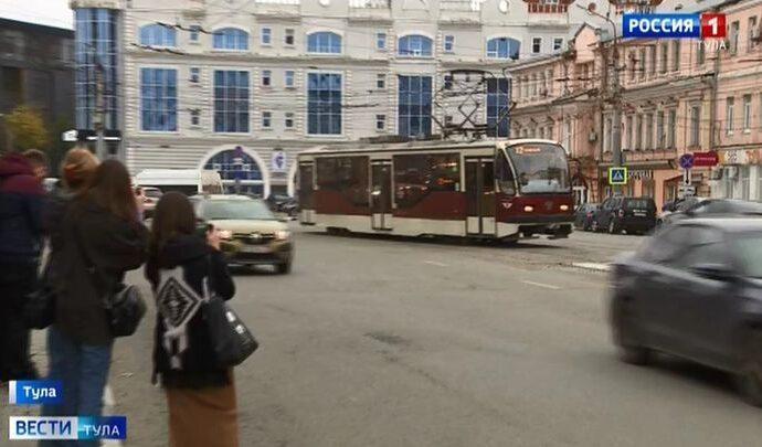 Новые рельсы на Советской испытали трамваями
