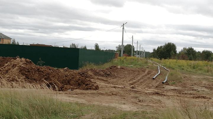 Чистая вода появится в Алексинском районе. В городе на Оке ведётся строительство сетей водоснабжения