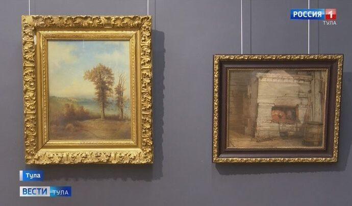 В Тулу из Вологды приехала выставка  «Русское искусство XIX века»