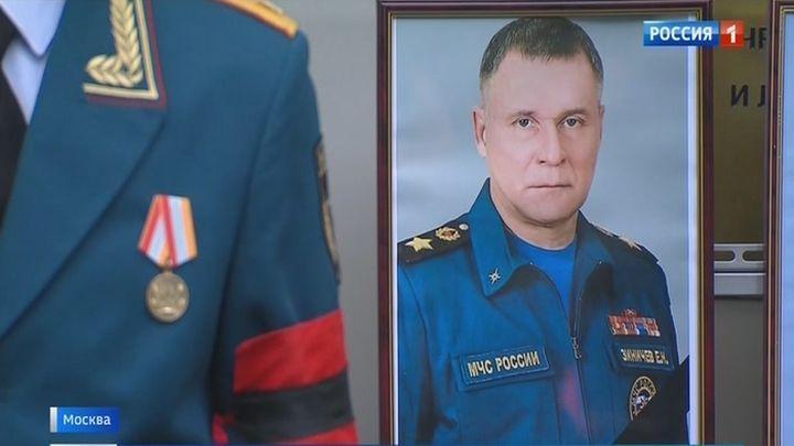 Алексей Дюмин  принял участие в церемонии прощания с Евгением Зиничевым