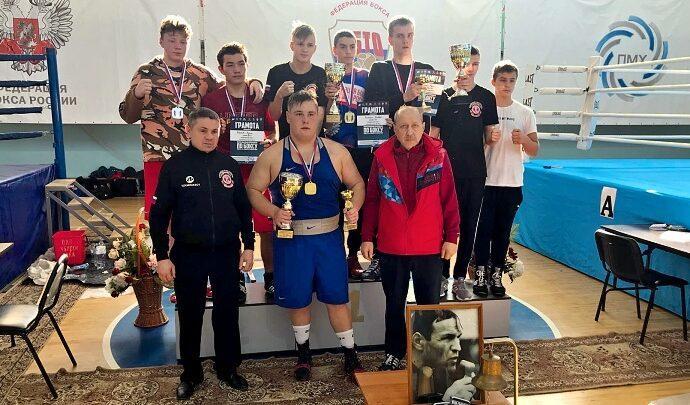 Боксёры Тульской области на Мемориале Жабарова
