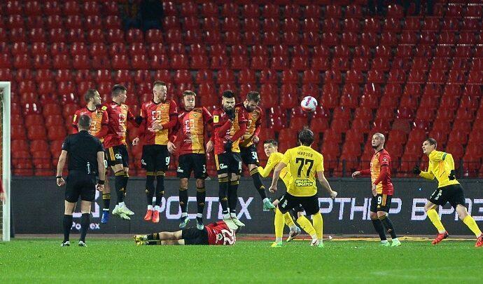 «Арсенал» в Туле не смог обыграть «Химки»