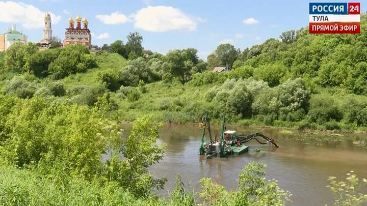 На расчистку тульских рек выделят более 40 млн. рублей
