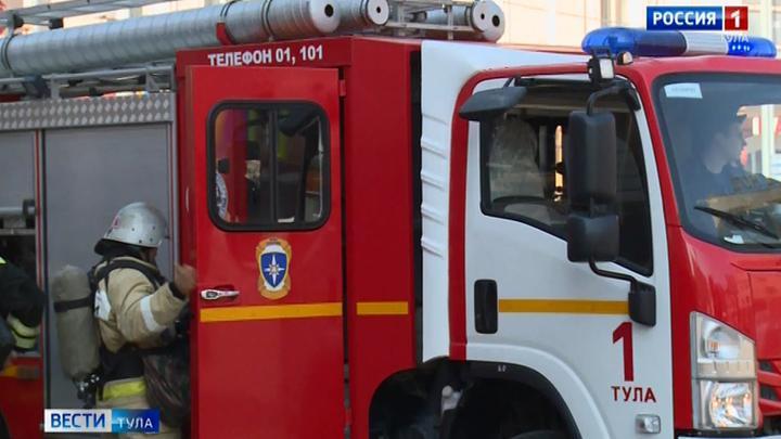 Тульские пожарные оправдали статус профессионалов