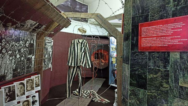 Люди, помните: В Заокске открылась выставка, посвящённая жертвам военных преступлений