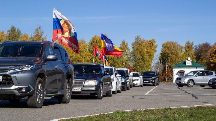 В Тульской области прошел третий автопробег «Колонна Дмитрия Донского»