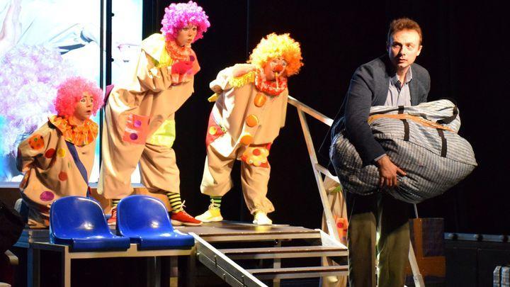 В Узловой прошел закрытый показ спектакля, поставленного Сергеем Векслером