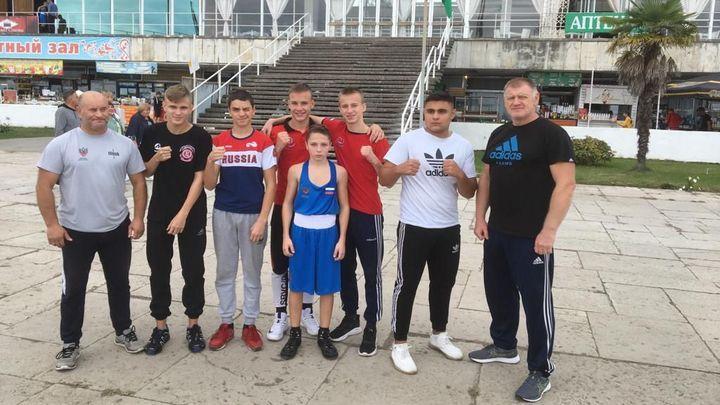Тульские боксёры завоевали три медали в абхазской Пицунде