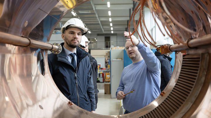 Делегация Тульской области посетила подмосковный наукоград «Дубна»