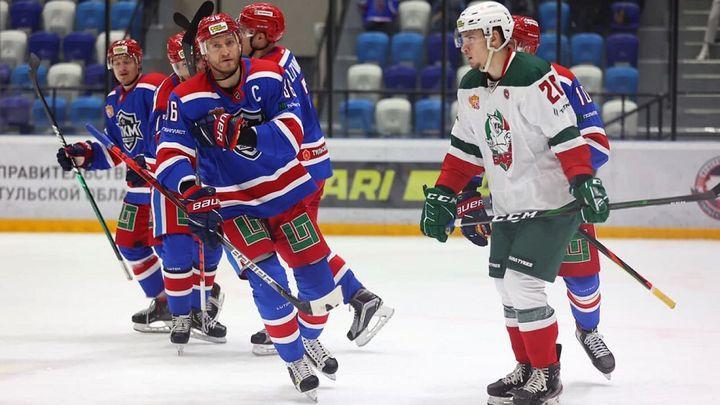 Хоккеисты АКМ в овертайме выиграли у «Барса»