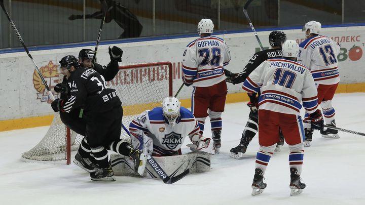 Хоккеисты АКМ в серии штрафных бросков уступили «Челмету»