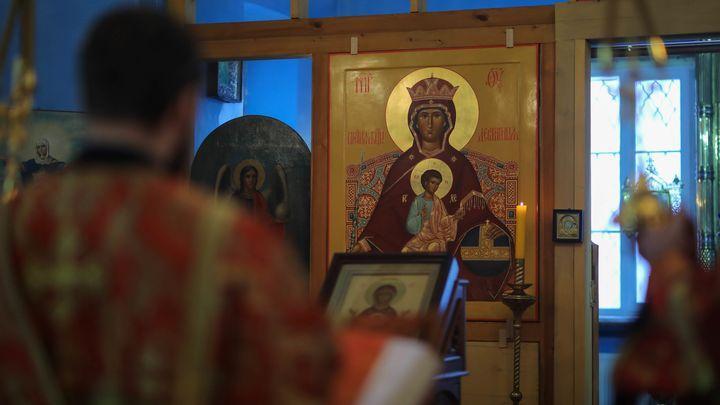 Православные христиане празднуют день Покрова Божией Матери