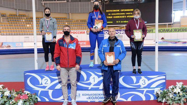 Конькобежка Анастасия Шацких - двукратная победительница «Кубка Коломенского кремля»