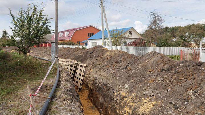 В поселок Майский Щекинского района пришла «Большая вода»