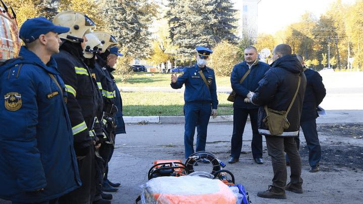 Готовность номер один: В Новомосковске провели смотр техники для ликвидации ЧС